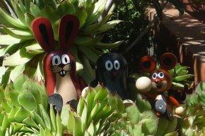 Taupek dans le jardin