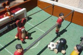Taupek fait du foot