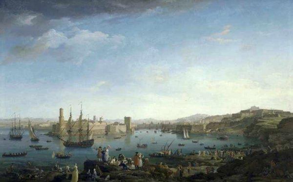 Entrée du Port de Marseille, Joseph Vernet