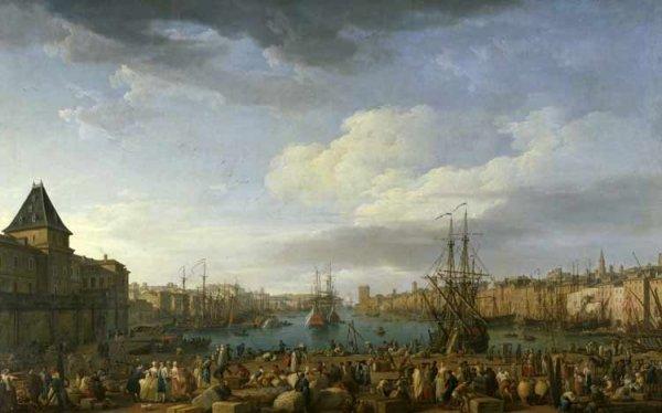 Intérieur du Port de Marseille, Joseph Vernet