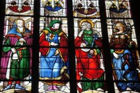 Vitrail de la cathédrale d'Auch