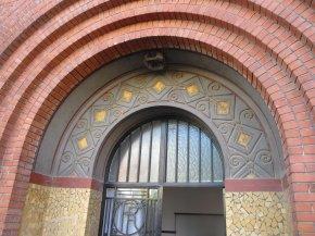 Entrée Art Deco Lycée Langevin