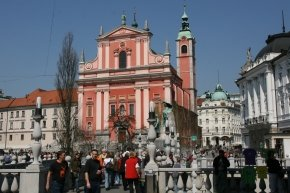 Eglise franciscaine, Ljubljana