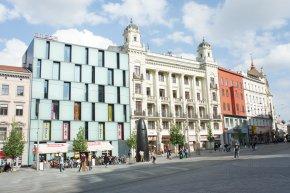 Place centrale de Brno