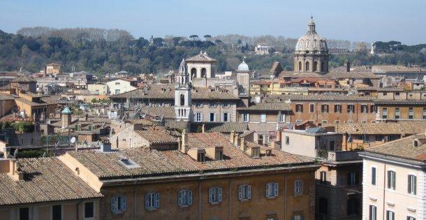 Toits de Rome