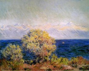 Alpes, Claude Monet