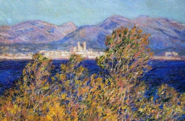 Cap d'Antibes, Monet
