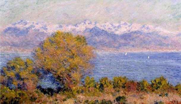 Vue d'Antibes, Monet
