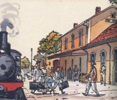 Gare de Tizi Ouzou en Kabylie