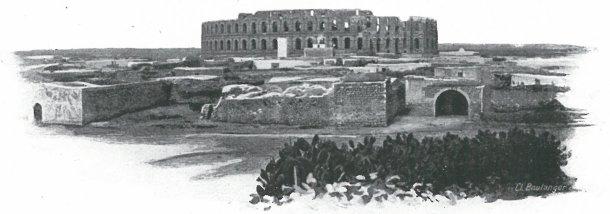 Amphithéâtre d'El-Djem, Tunisie
