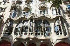 Casa Batlló, façade